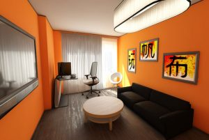 naranja Claves para determinar los colores correctos en los ambientes que habitamos.