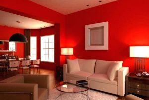 rojo Claves para determinar los colores correctos en los ambientes que habitamos.