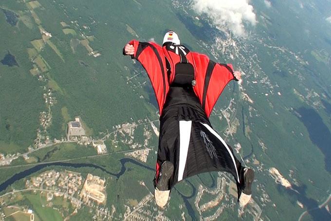 Deportes aéreos extremos