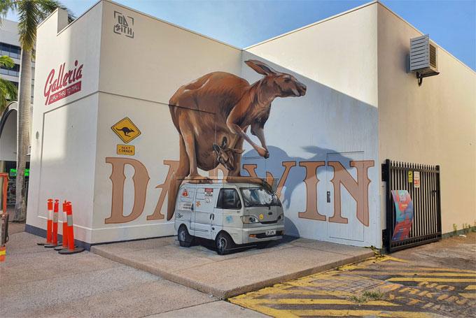 Darwin street art festiva