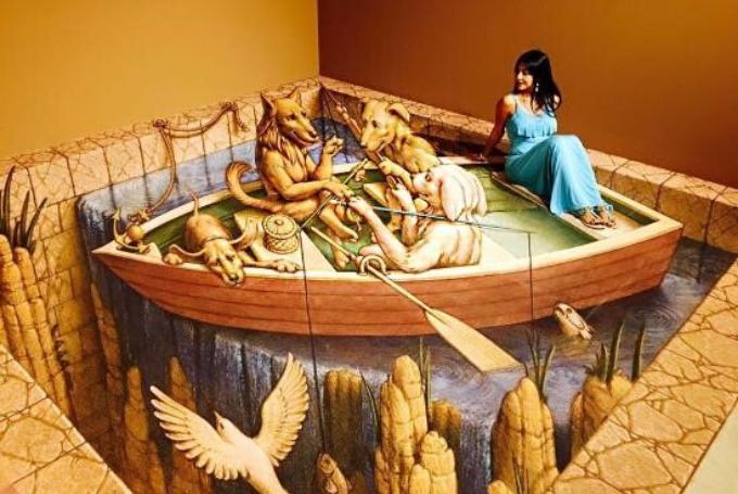 """Prohibido """"no"""" tocar. El sorprendente museo 3D de Playa del Carmen"""
