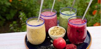 Furor por los smoothies. 5 recetas fáciles de preparar