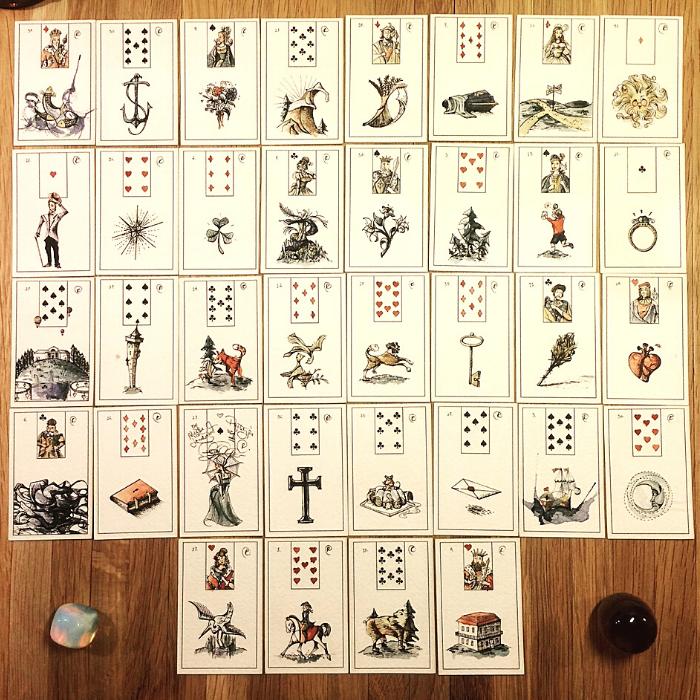 Descubrí todo acerca de las cartas Lenormand y su significado en el arte de la predicción