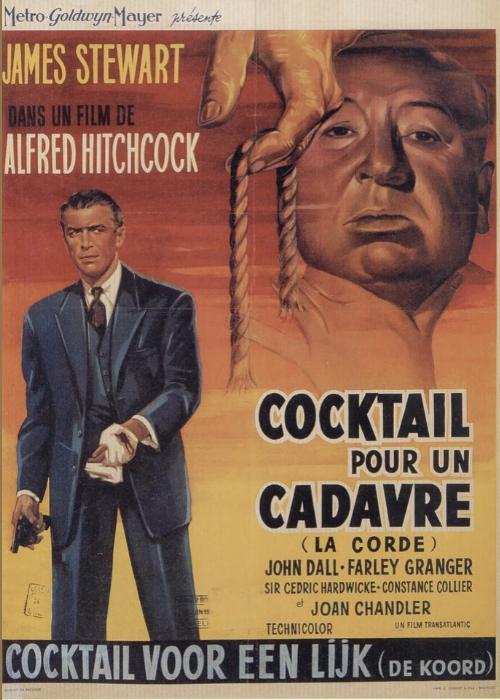 La soga, de Hitchcock. Un crimen en plano secuencia