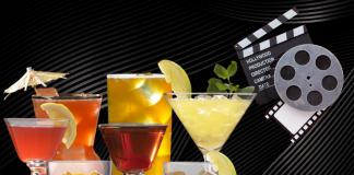 Luz, cámara, brindis. 5 cócteles de películas