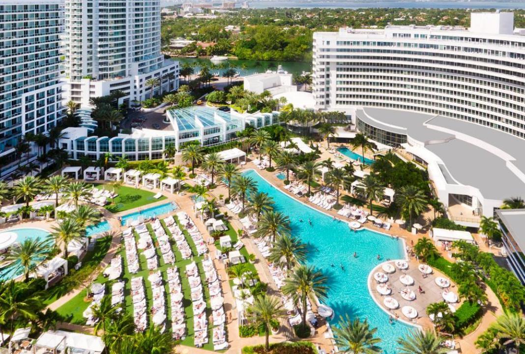 Hotel Fontainebleau, Miami Beach (EE.UU)
