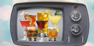 5 cócteles fuera de serie. Cuando la TV marca tendencias.